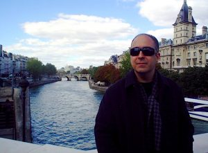 Mexican writer and critic Mauricio Montiel Figueiras in Paris
