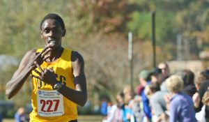Photo of Paul Chelimo during cross country race
