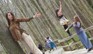 Photo of dancers at bog garden
