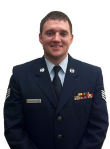 Matthew Partridge in uniform