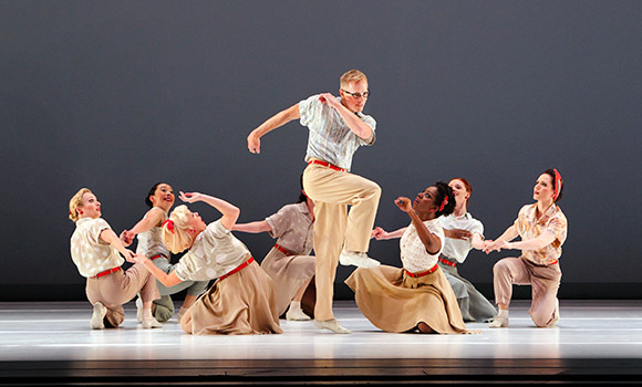 Paul Taylor Dance Company to Perform World Premiere at UNCG's Aycock Auditorium