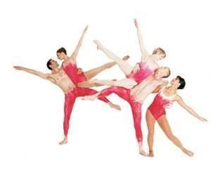 "photo of Paul Taylor Dance Company performing ""Mercuric Tidings"""
