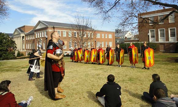 Explore ancient Greek and Roman life at UNCG's annual Classics Day