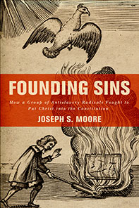 Founding Sin book cover photo courtesy of Oxford University Press.