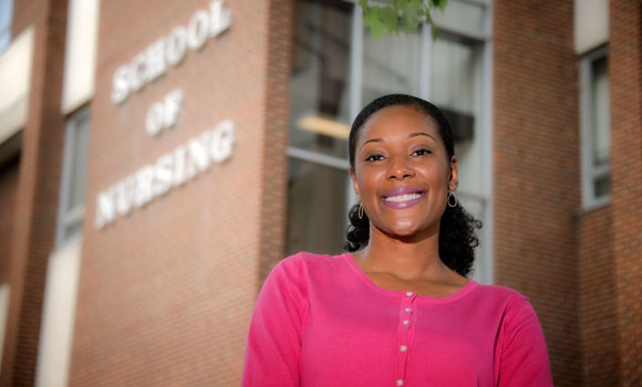 Alumna returns home to earn Ph.D in Nursing