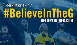 Believe in the G image with students