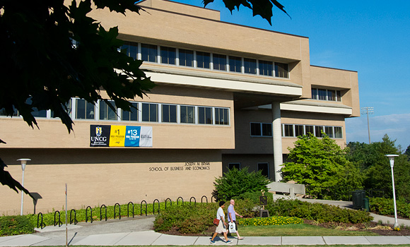 UNCG's Bryan School named 'Best for Vets' by Military Times