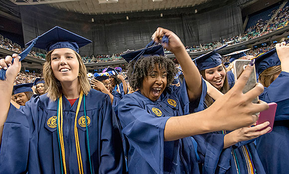 May graduates share Commencement highlights on social media