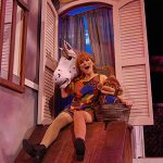 "UNCG Theatre student Bailey Keith plays Pippi in the production of ""Pippi Longstocking"" last November."