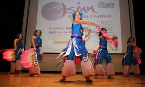 Photo of Asian Dancers at Asian Autumn Festival