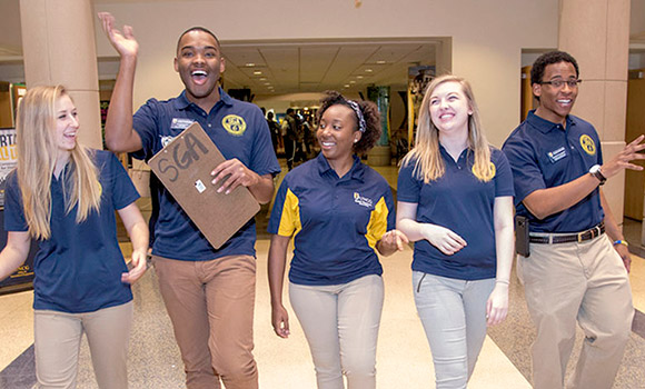 More than 200 ways to embrace your college experience at UNCG