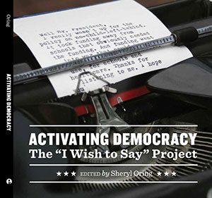 """Activating Democracy"" book cover"