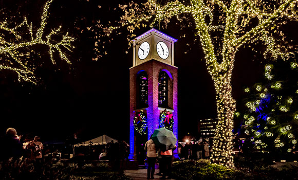 UNCG to celebrate holidays with annual lighting of Vacc Bell Tower