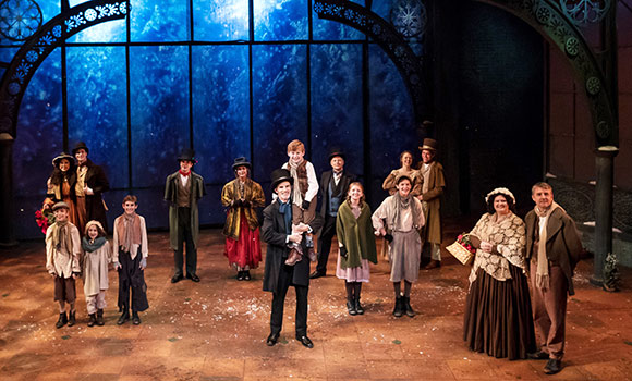 Spartans shine in 'A Christmas Carol' at Triad Stage