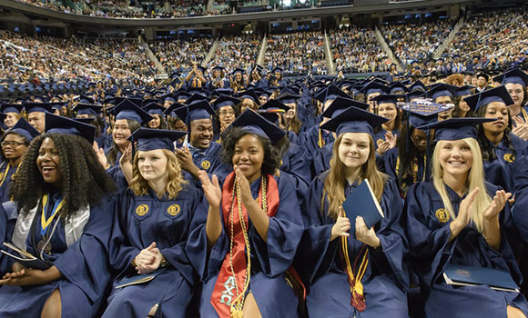 UNCG to award more than 1,700 degrees at December Commencement