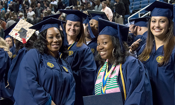 #UNCGgrad: Our favorite social posts from December Commencement
