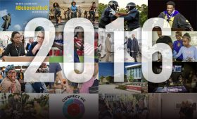 Photo collage of feature images from this year's top stories
