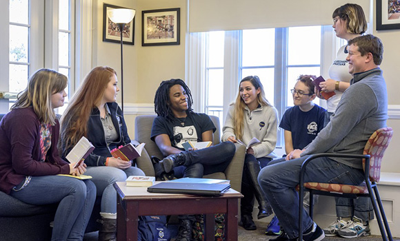 Living meets learning at residential colleges