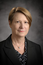 Head shot of Provost Dana Dunn