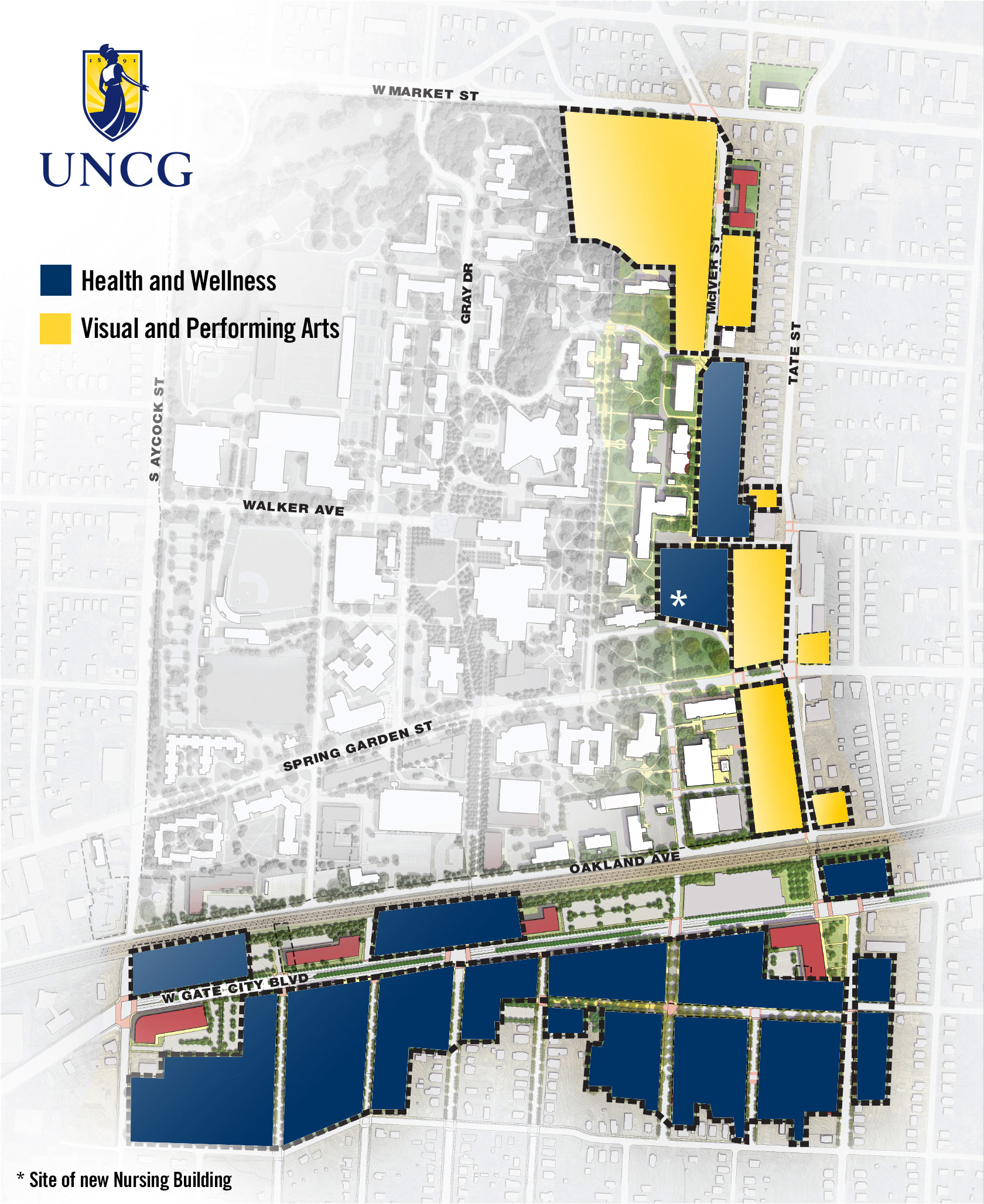 UNCG takes Giant Steps with Millennial Campus