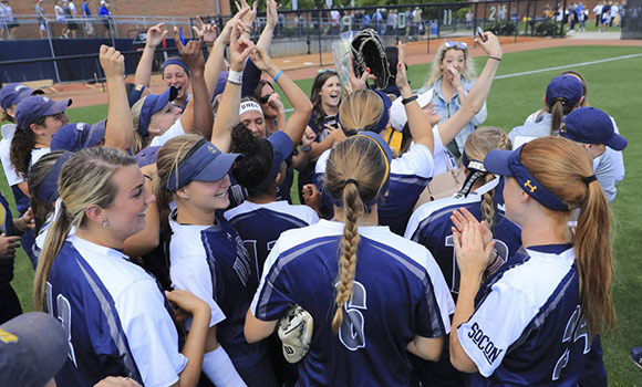 UNCG Softball takes top seed