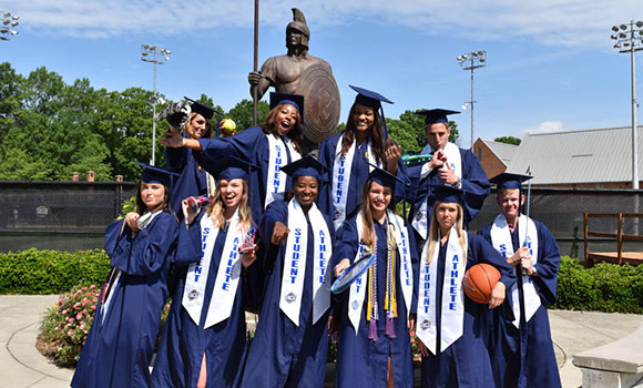 Spartan student-athletes set records in classroom