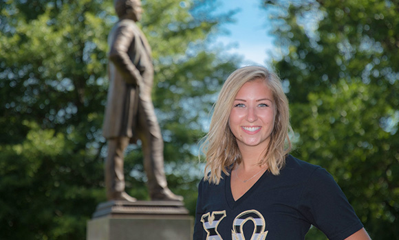 Putting passion into practice: SGA President Holly Shields