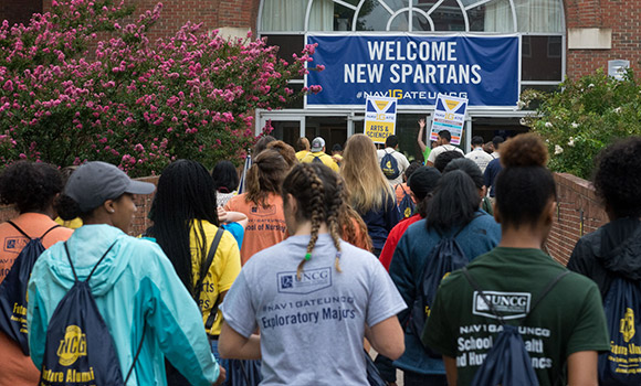UNCG welcomes new students at NAV1GATE