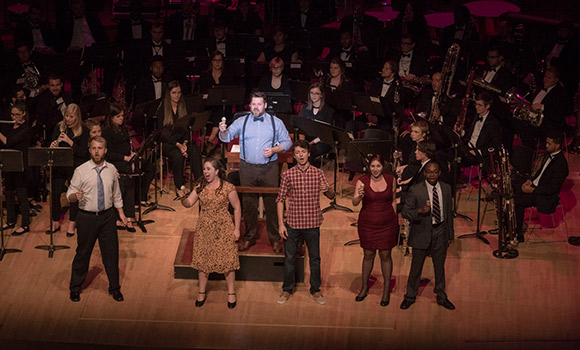School of Music thrills thousands at 2017 Collage concert