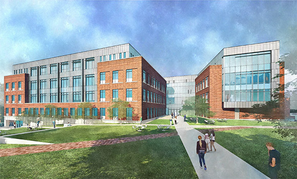 UNCG Trustees approve design for new Nursing and Instructional Building