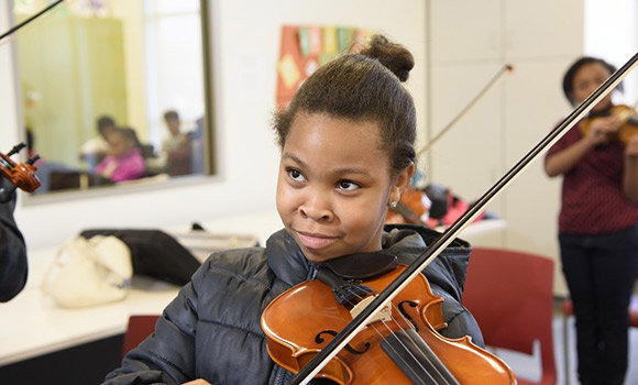 UNCG partners with Guilford County Schools on $1.4 million grant for arts education