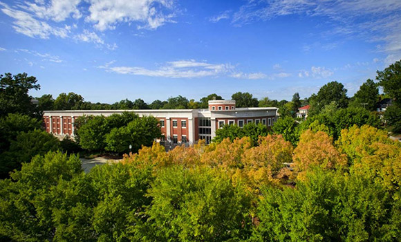 UNCG named top performer in 2017 Sustainable Campus Index