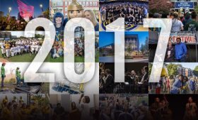 Photo collage of 2017 pictures