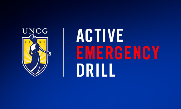 UNCG to host emergency drill Feb. 1