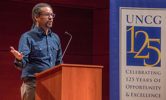 'The Underground Railroad' author Colson Whitehead visits campus