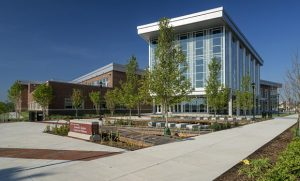 Exterior photo of Leonard J. Kaplan Center for Wellness