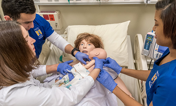 Simulation lab prepares future nurses for labor and delivery