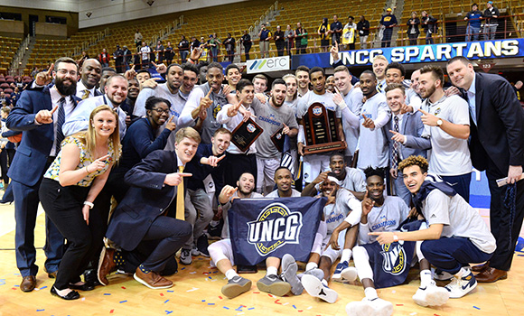 Spartans soar in SoCon championship, earn NCAA berth