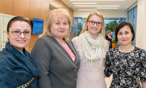 School of Nursing helps initiate Moldovan university program