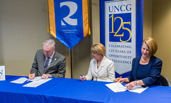 UNCG announces co-admission program with Randolph Community College