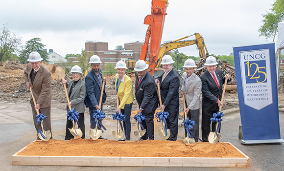 UNCG breaks ground on new Nursing and Instructional Building