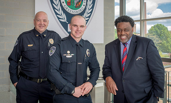 UNCG Police Officer Taylor Trantham named UNC System Officer of the Year