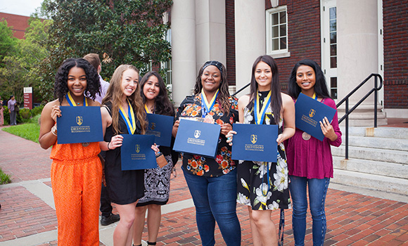 Students honored for completing over 5,000 service hours