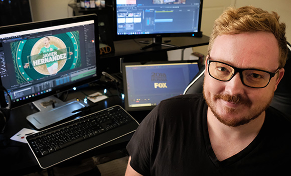 Alumnus designs motion graphics for World Cup broadcast