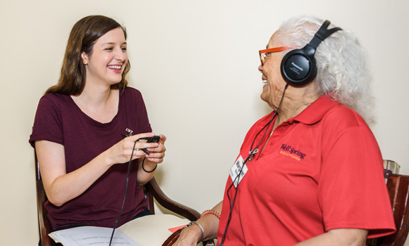 Music to their ears: Care-focused research brings rewards