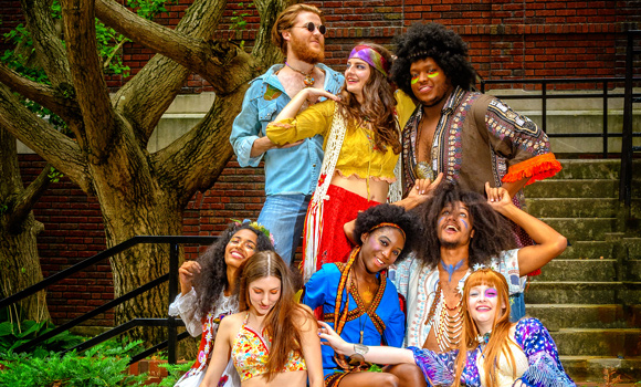 Theatre students get groovy with 'Hair'