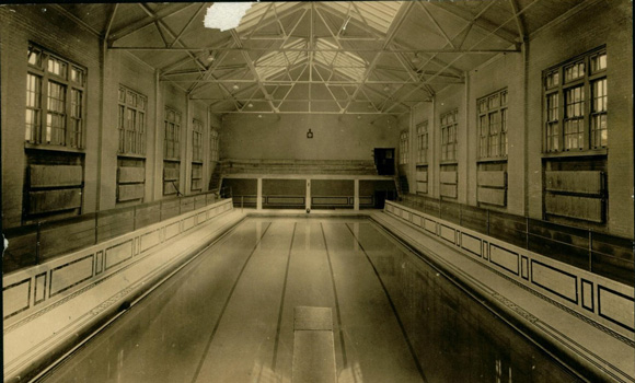 Archive photo of pool