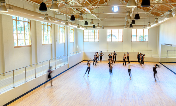Leaps and bounds: New dance studios in former Rosenthal Pool