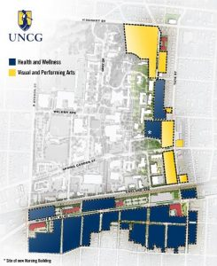 Photo of Millennial Campus Map