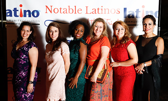 11 Spartans recognized at Notable Latinos of the Triad event